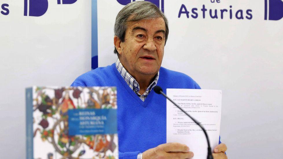 Entrevista a Carmen Moriyón, candidata de Foro a la presidencia del Principado.El presidente de Foro de Asturias, Francisco Álvarez-Cascos