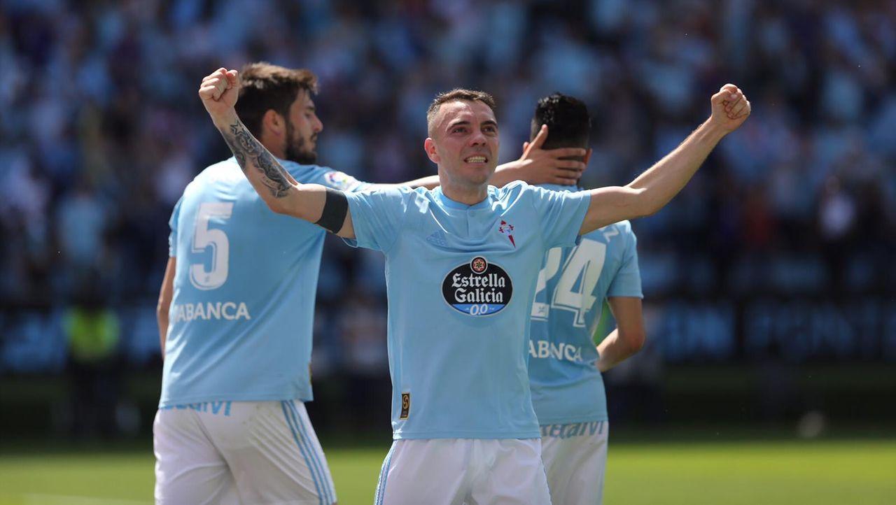 Celta-Girona el 20 de abril del 2019