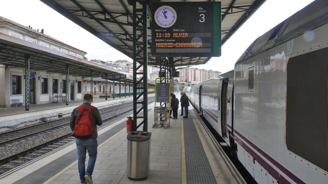 Renfe adelanta 20 minutos la salida del Alvia de Lugo a Madrid, será a las 10.50 horas