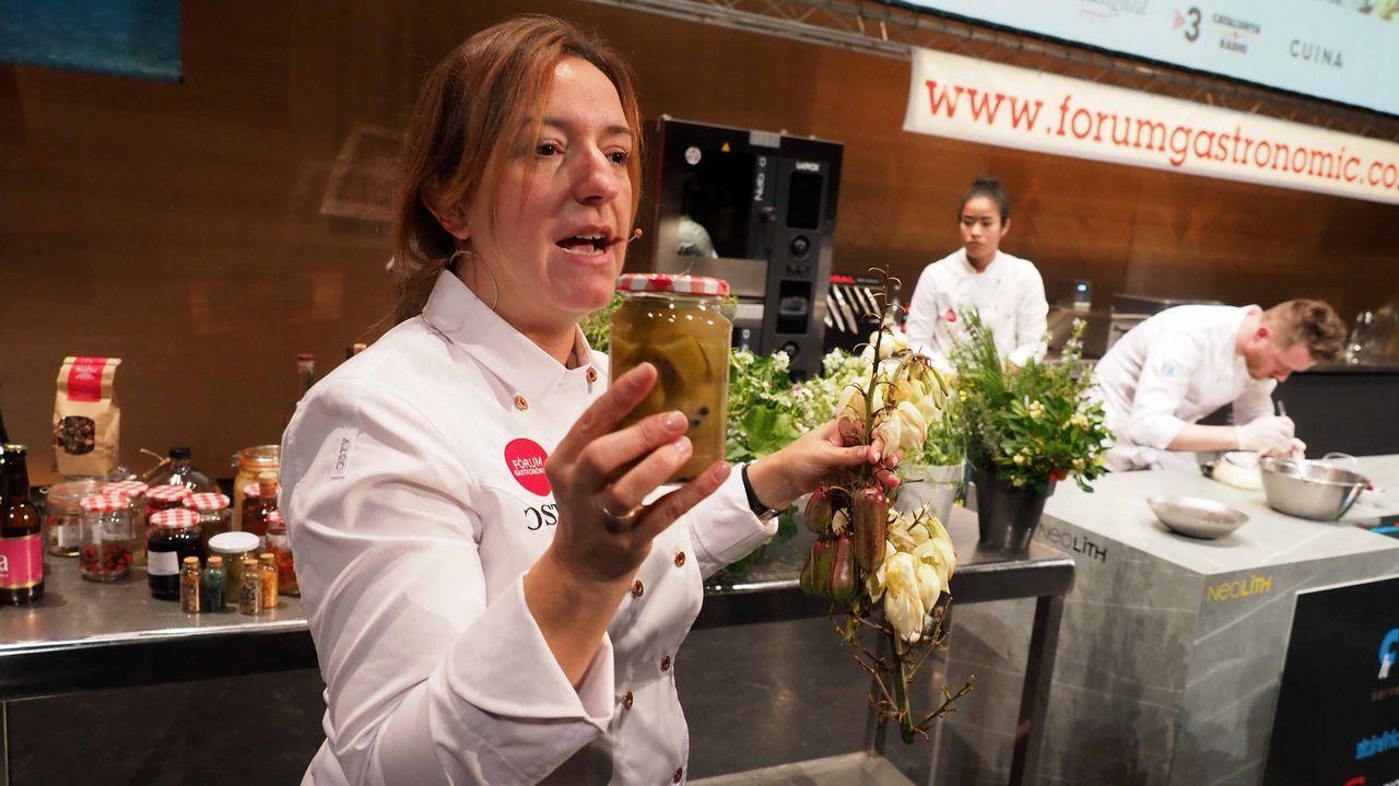 Iolanda Bustos (La Caèndula - Regencós, Gerona): «Aprovecho los ciclos lunares para las fermentaciones y así exprimir al máximo los productos».