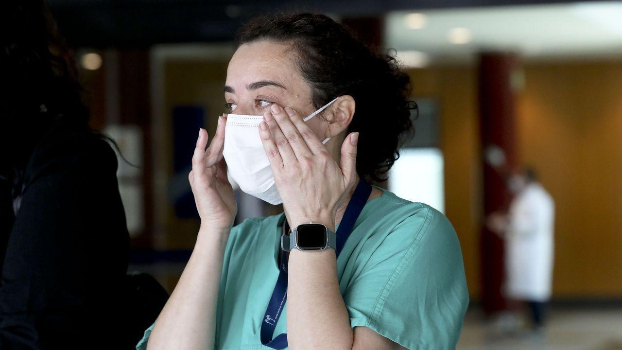 Los sanitarios agradecieron el apoyo de estos meses emocionados tras firmar el acuerdo