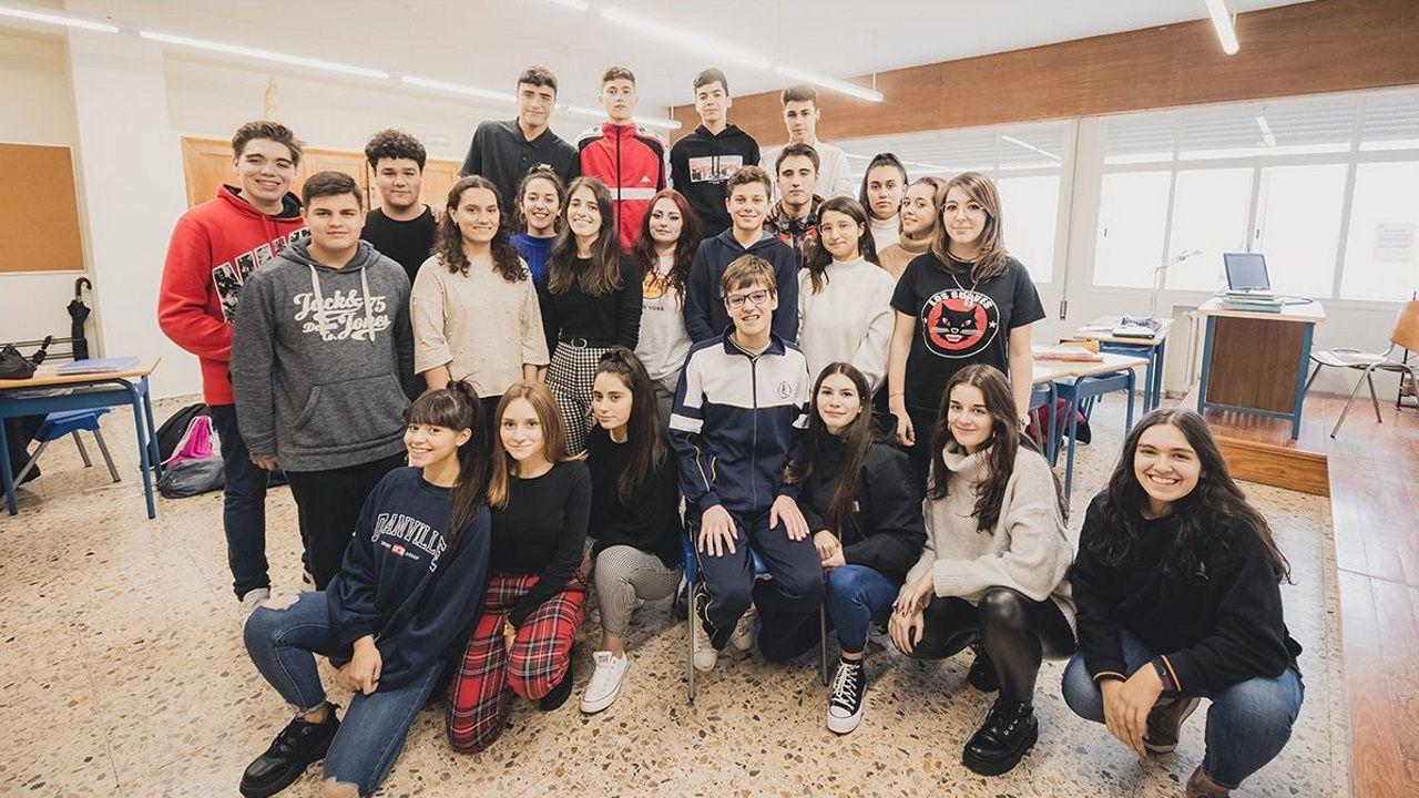 Alfredo Fernández estudia FP en A Coruña, pero todos los fines de semana vuelve a su casa, el hogar de protección de menores San Aníbal de Burela