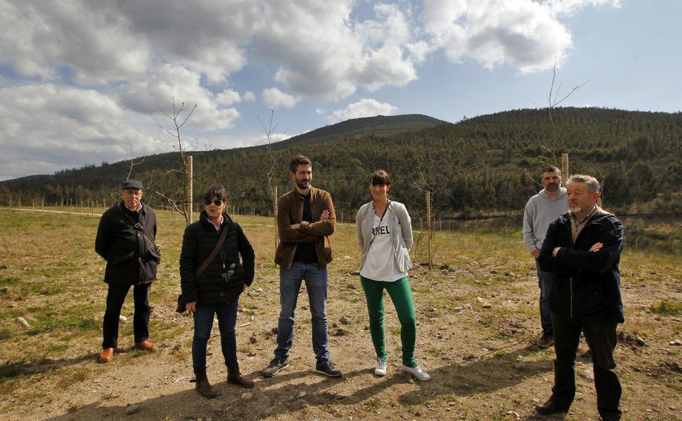 Varela denuncia el abandono del parque de Pinar do Rei.
