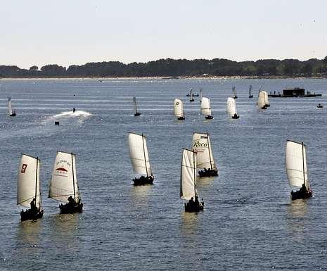 La prueba isleña contó este año con 37 embarcaciones.