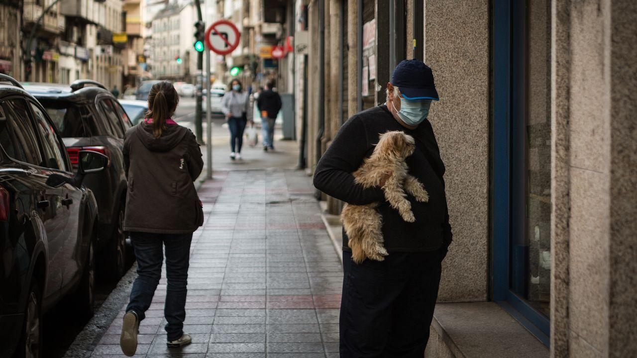 Verín vive medidas restrictivas para controlar la evolución de la pandemia