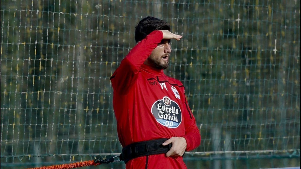 Álex Bergantiños militó la pasada temporada en Segunda con el Sporting