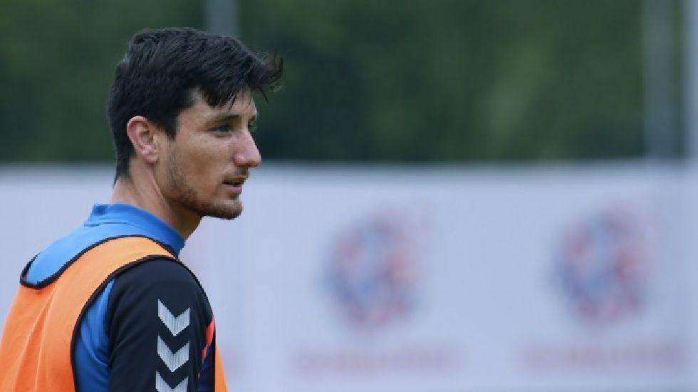 Borja Valle en su etapa en el Oviedo