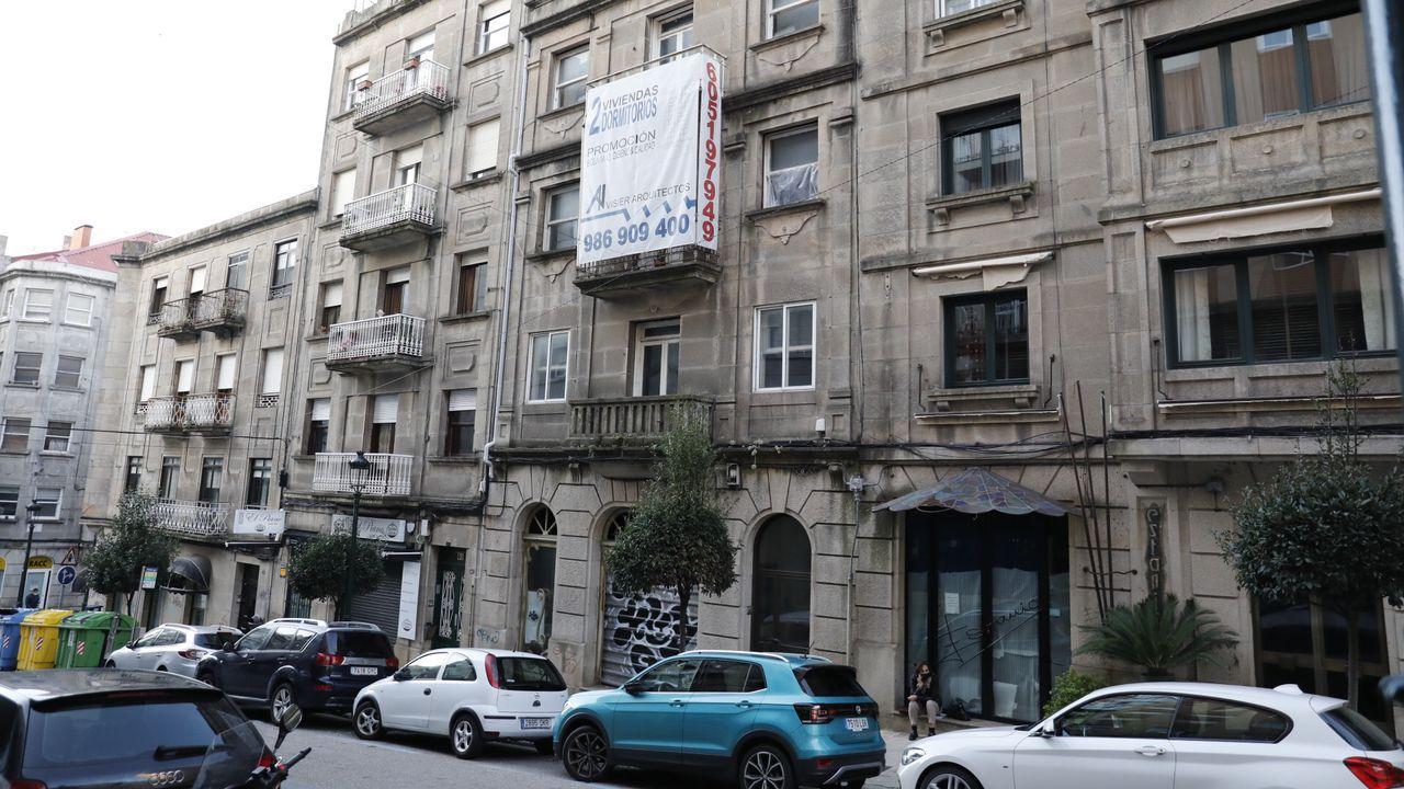 Interior de piso patera en Vigo