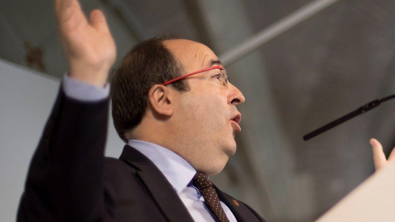 Miquel Iceta baila en «El Intermedio».Jornada de huelga en Cataluña
