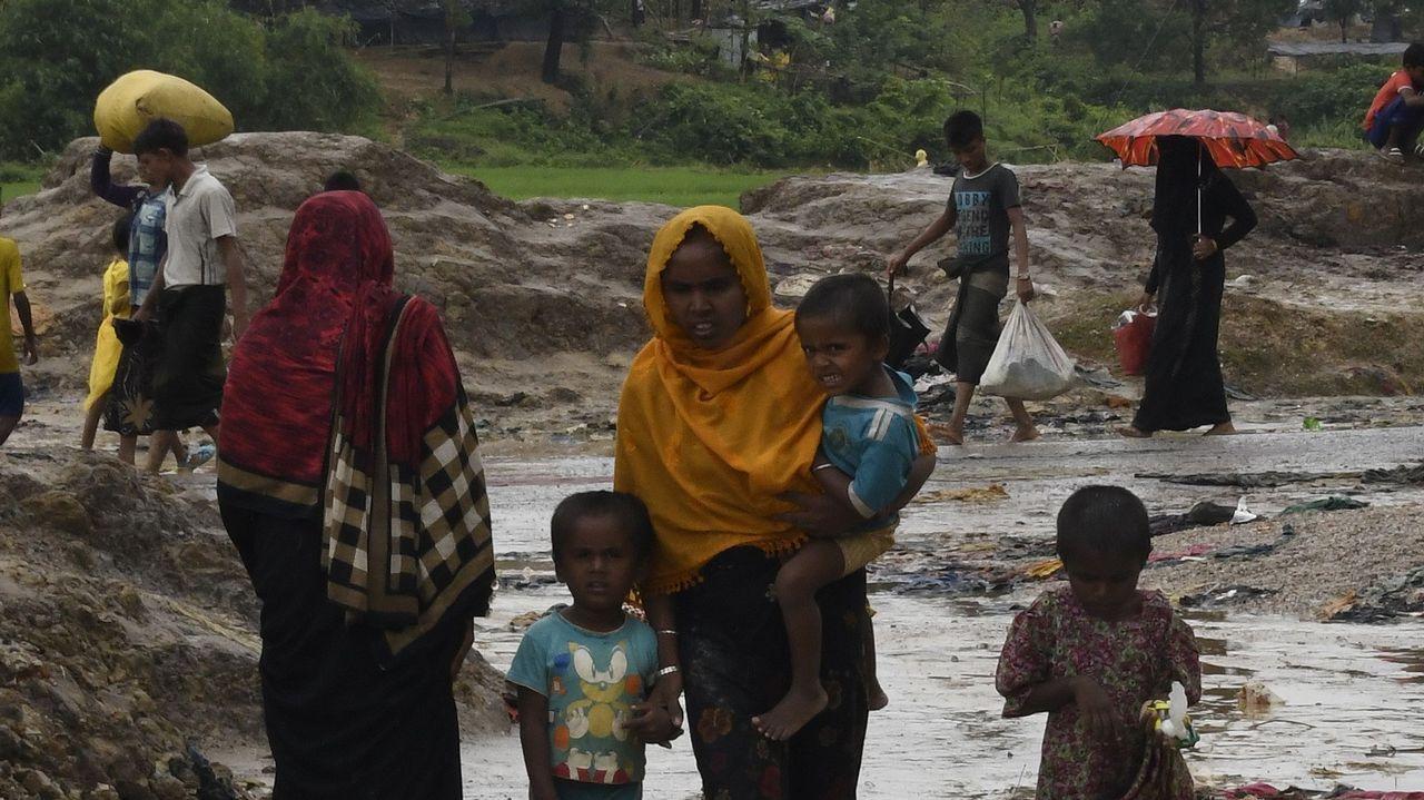 Situación de los rohinyás en los campos de refugiados de Bangladés