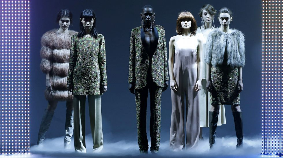 Desfile Roberto Verino.Desfile de Duyos para la pasarela Mercedes Benz Madrid Fashion Week