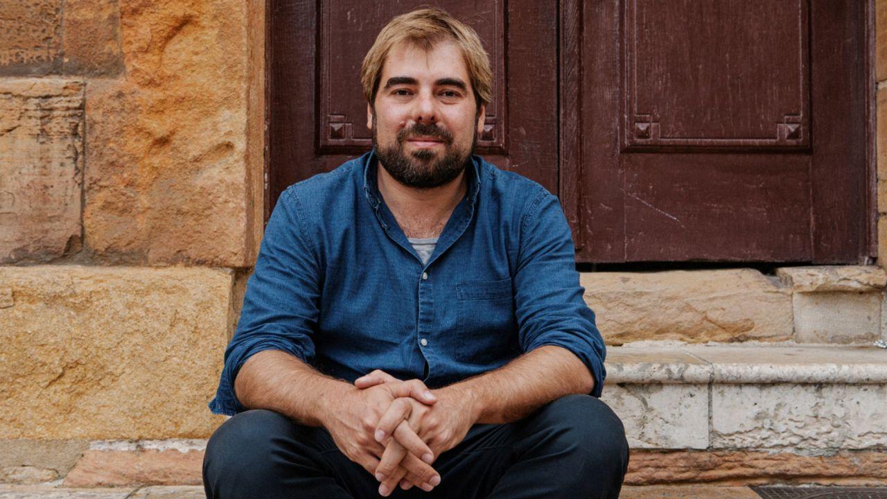 dentista.El secretario general de Podemos Asturies, Daniel Ripa
