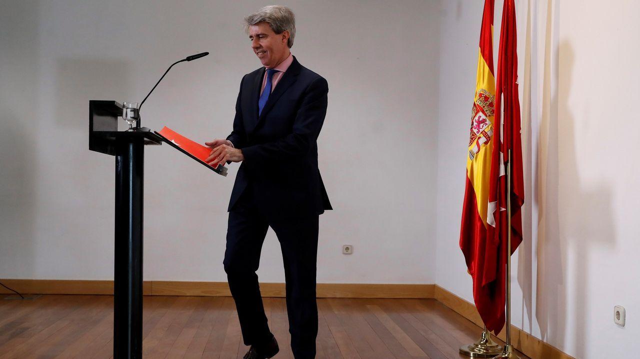 El último adiós a Rubalcaba, en imágenes.Pedro Sánchez