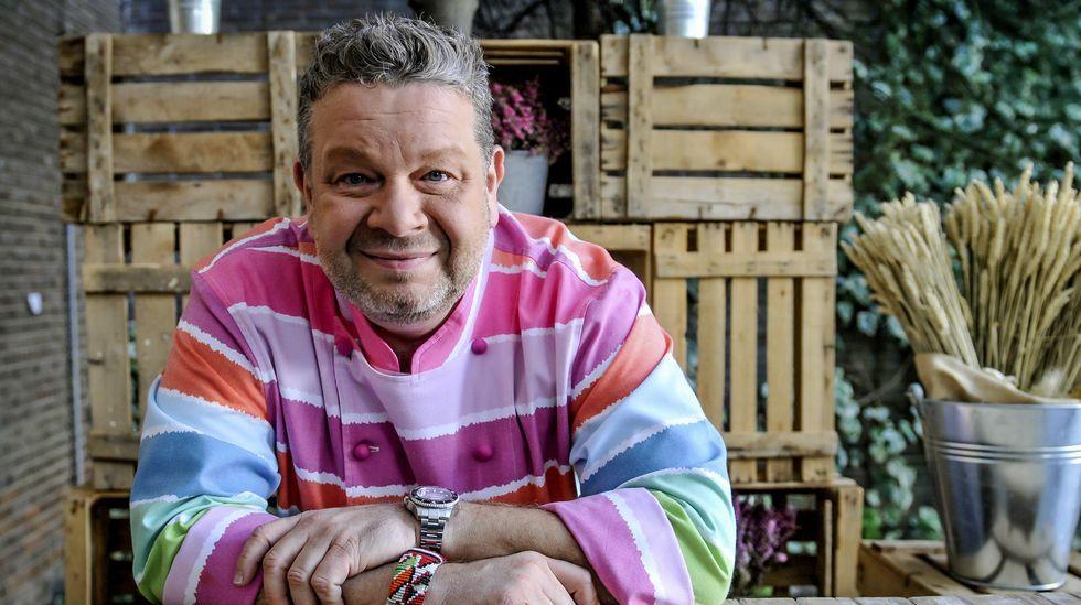 Chicote, en el Irlanda: «Ni que Galicia fuese una tierra de trolls».Alberto Chicote ha hecho famosas su «coloridas» camisas.