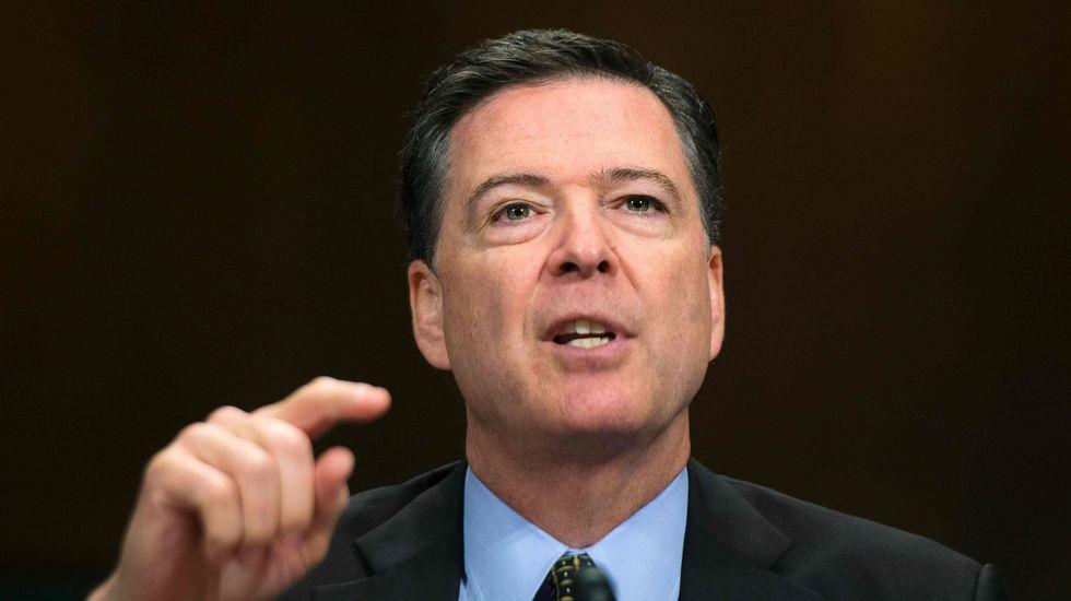 Trump cesa de manera fulminante al director del FBI.Robert Mueller, fiscal especial para superviar la pesquisa rusa del FBI