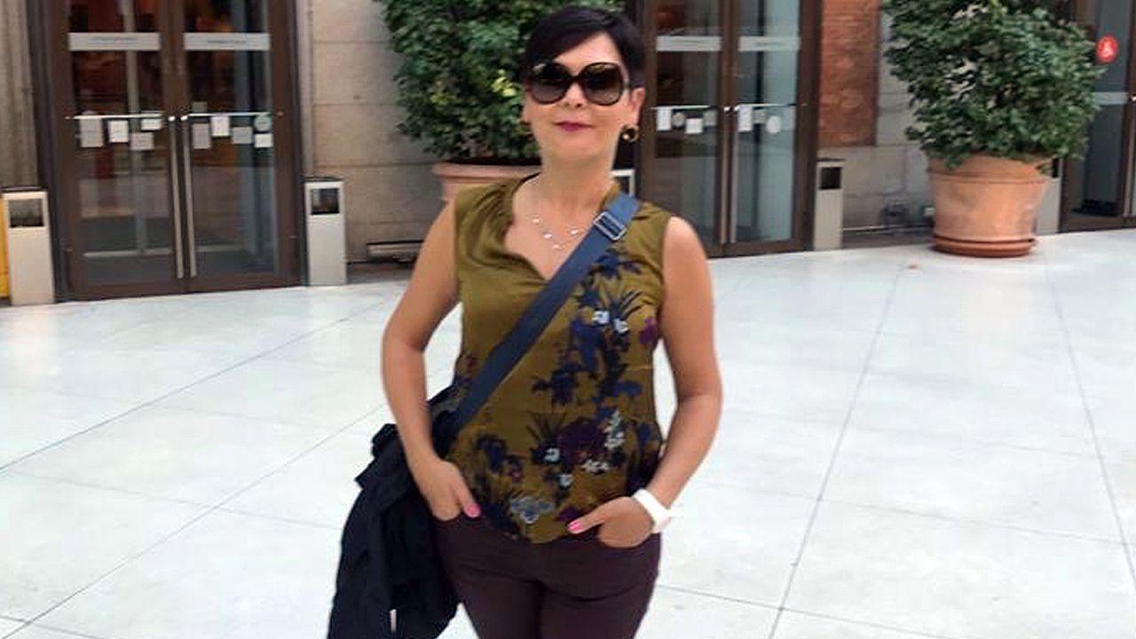 Los nacionalistas sacaron pecho del gobierno de Evencio Ferrero en Carballo.Rocío Fernández, médica en el Hospital de Arriondas