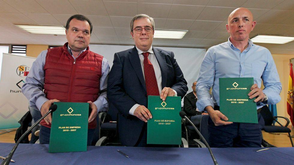 Alperi (izquierda), Rabanal y Garcia