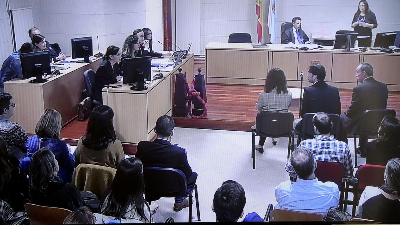 Declaracion de los forenses en el octavo día del juicio