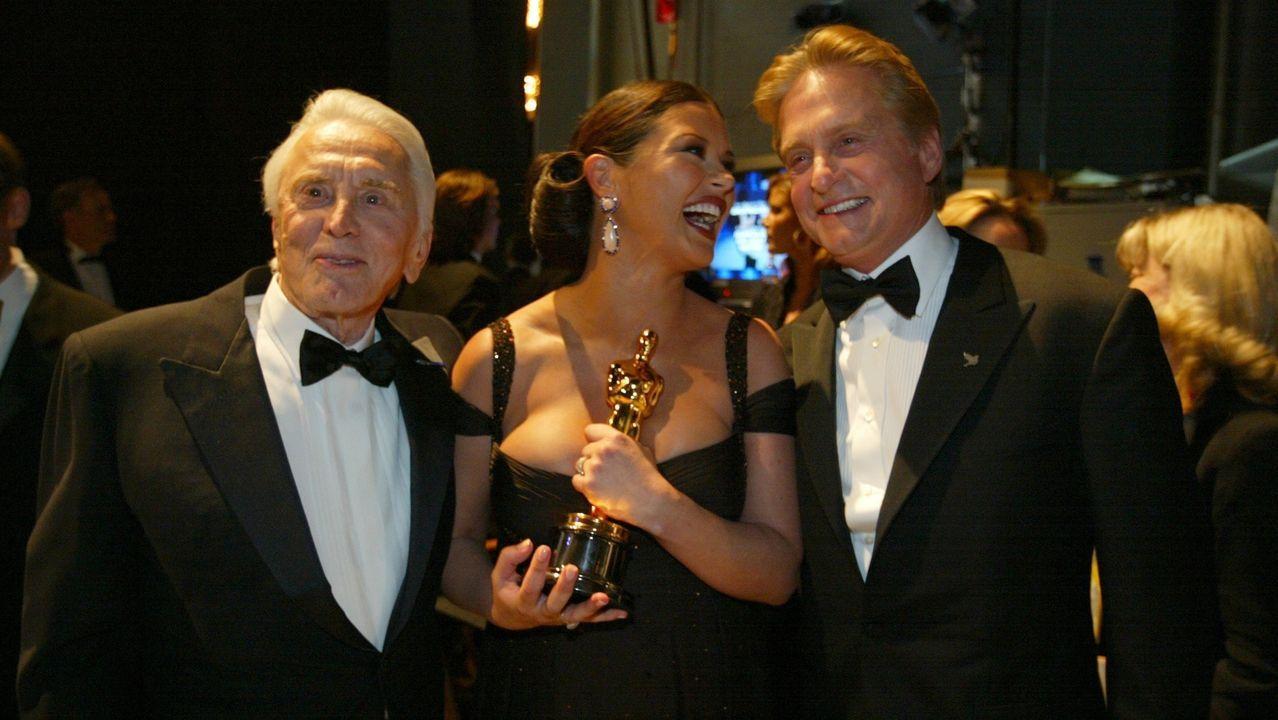 Con su  mujer Anne Buydens
