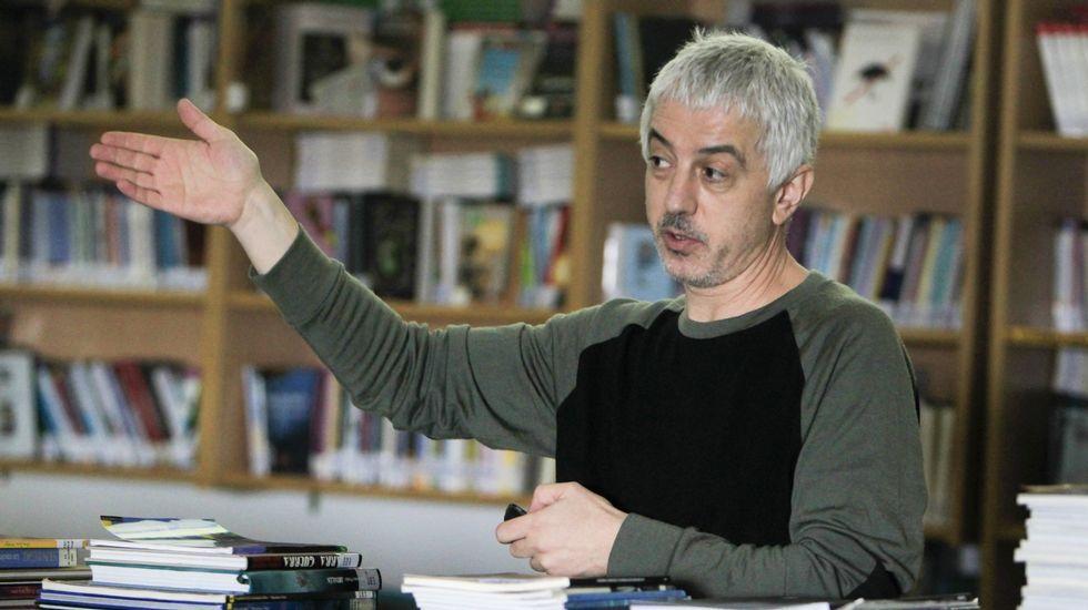Roteiro língua das bolboretas en Allariz.La directora Isabel Coixet recoge el premio a mejor dirección por su película «La librería»