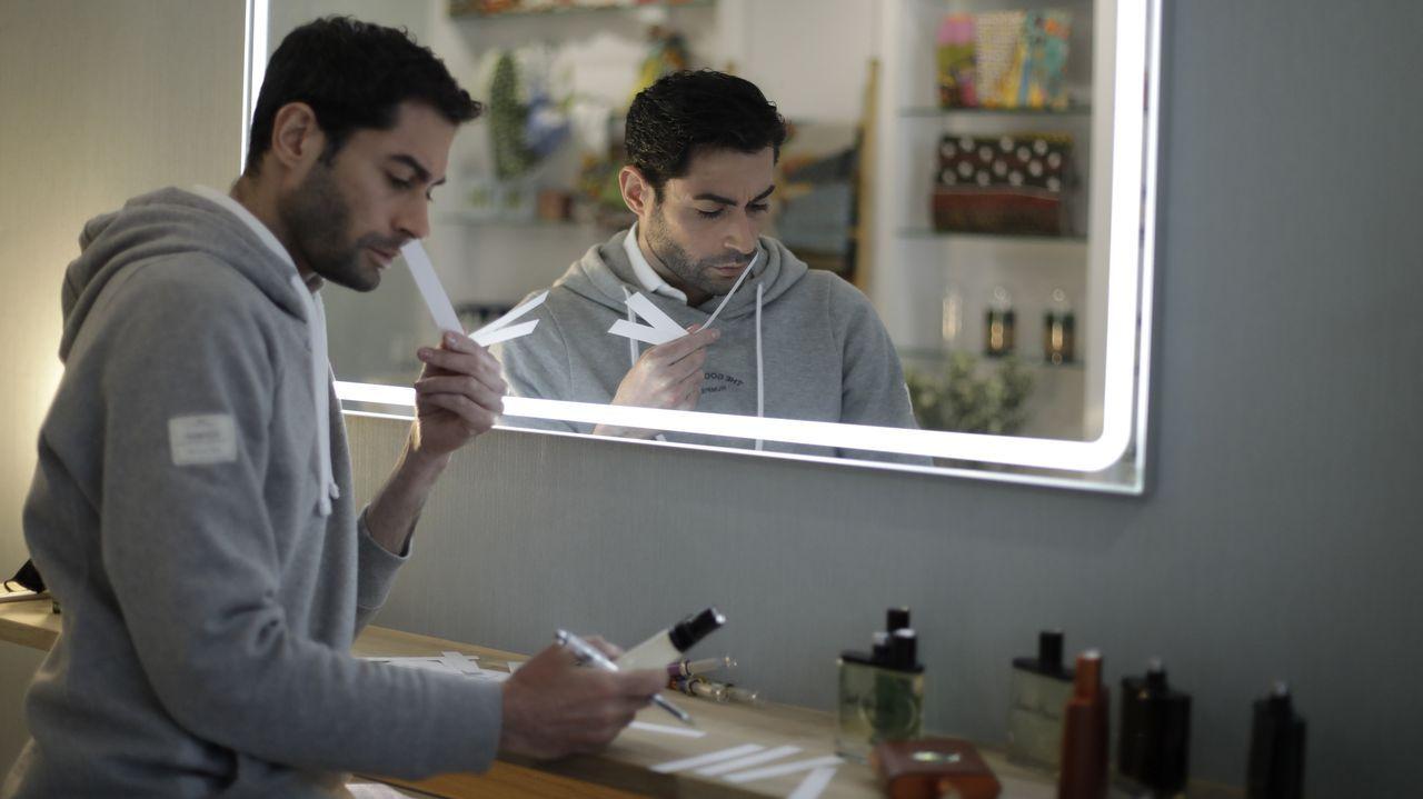 Greca Concept Store.Elvira Pesquera en el showroom de Nael en A Coruña