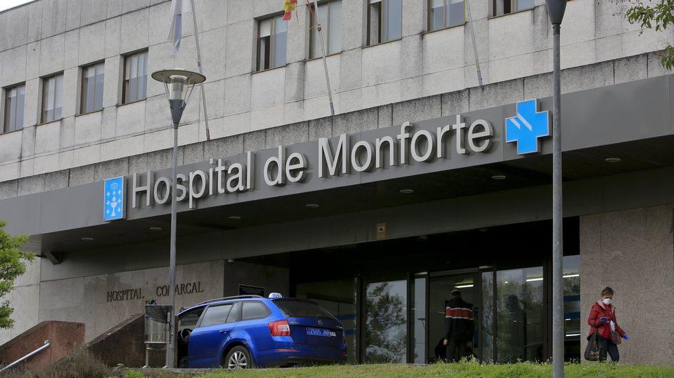 Este sábado no había pacientes hospitalizados por coronavirus en el hospital comarcal