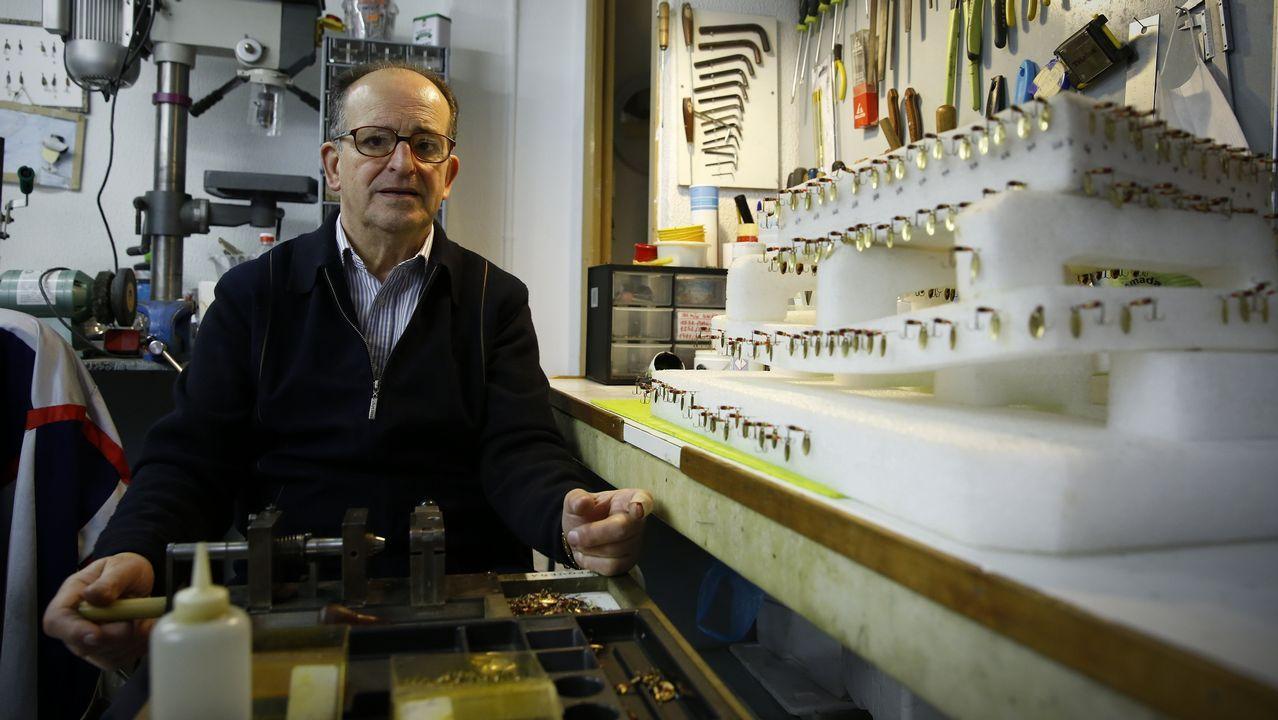 Así inventó Eduardo Fontela las cucharillas de pesca gallegas