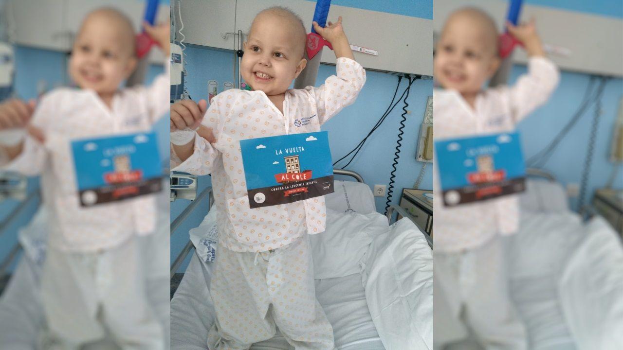 Promo de «The Last Rave».Eloi Platas, un pequeño al que se le detectó leucemia con dos años y medio, hoy escolarizado en un colegio coruñés