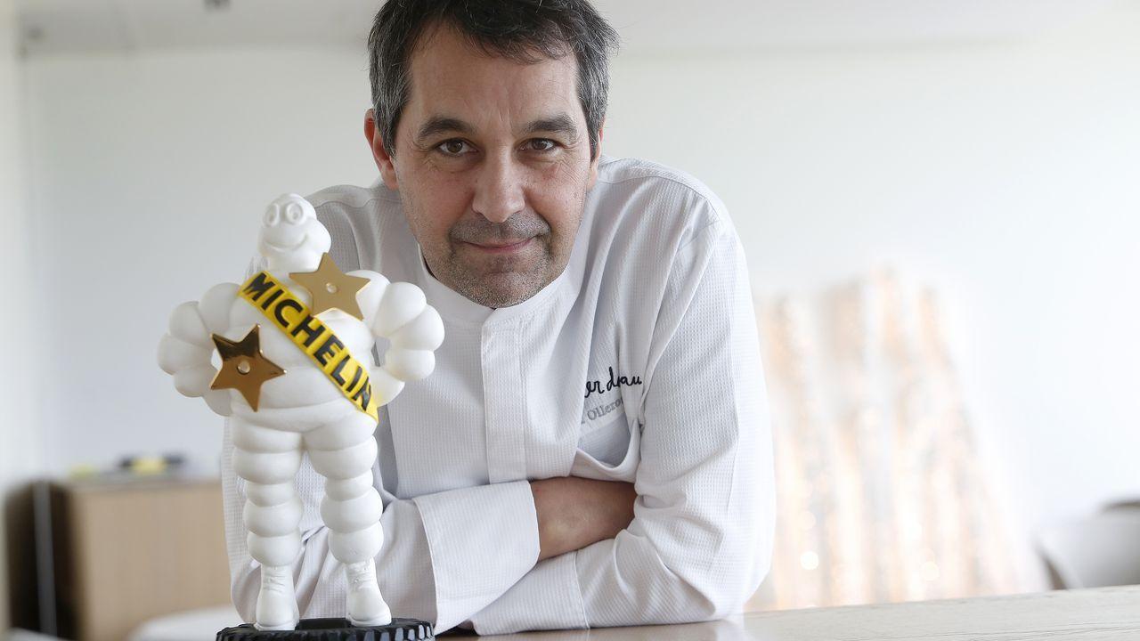 Vilamarín, donde empezó todo para los tres estrella Michelin ourensanos.Luis Veira. Imagen de archivo