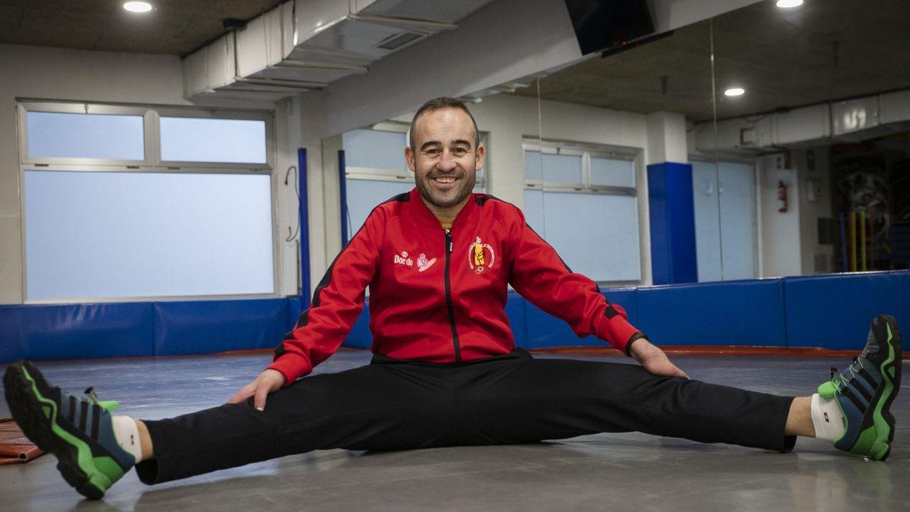 O ribeirense Álex Vidal competirá en setembro nos Xogos Paralímpicos de Tokio