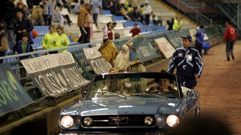 Los Reyes en Balaídos en el 2006
