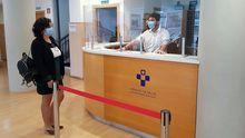 La gerente del Sespa, Concepción Saavedra, visita el Centro Residencial Ramón Menéndez Pidal, habilitado como nuevo dispositivo frente al coronavirus