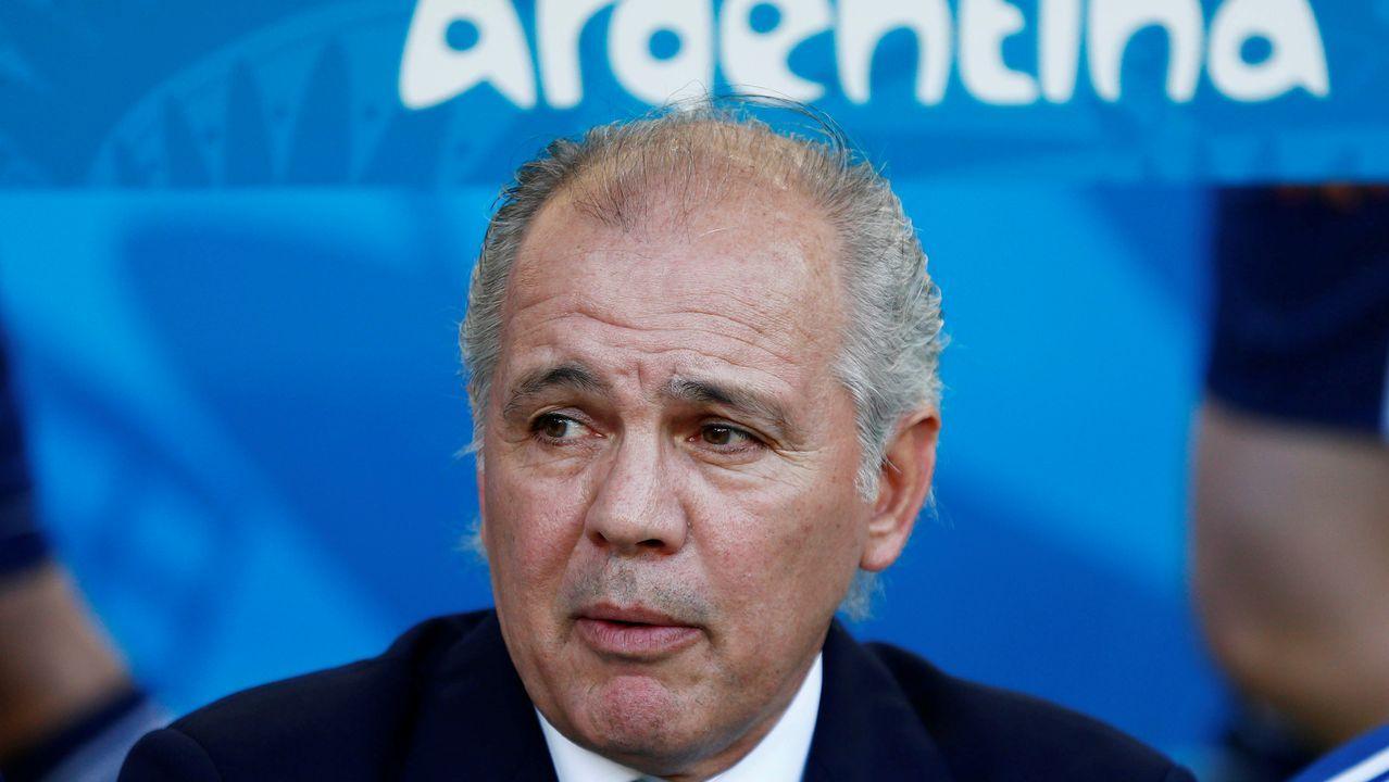El ex selecionador argentino de fútbol, Alejandro Sabella