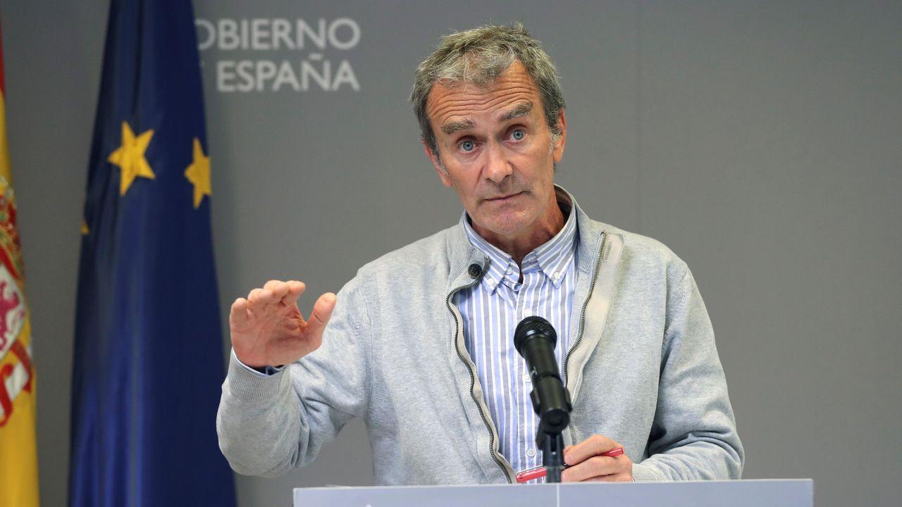 El director del Centro de Coordinación de Alertas y Emergencias Sanitarias (CCAES) del Ministerio de Sanidad, Fernando Simón