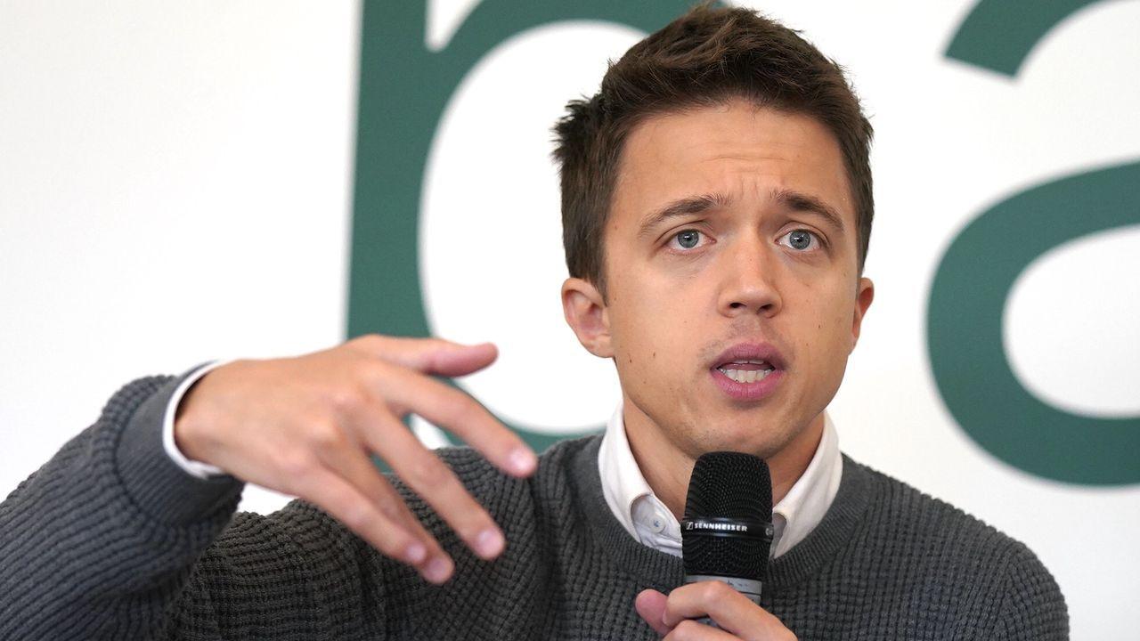 Íñigo Errejón, candidato de Más País