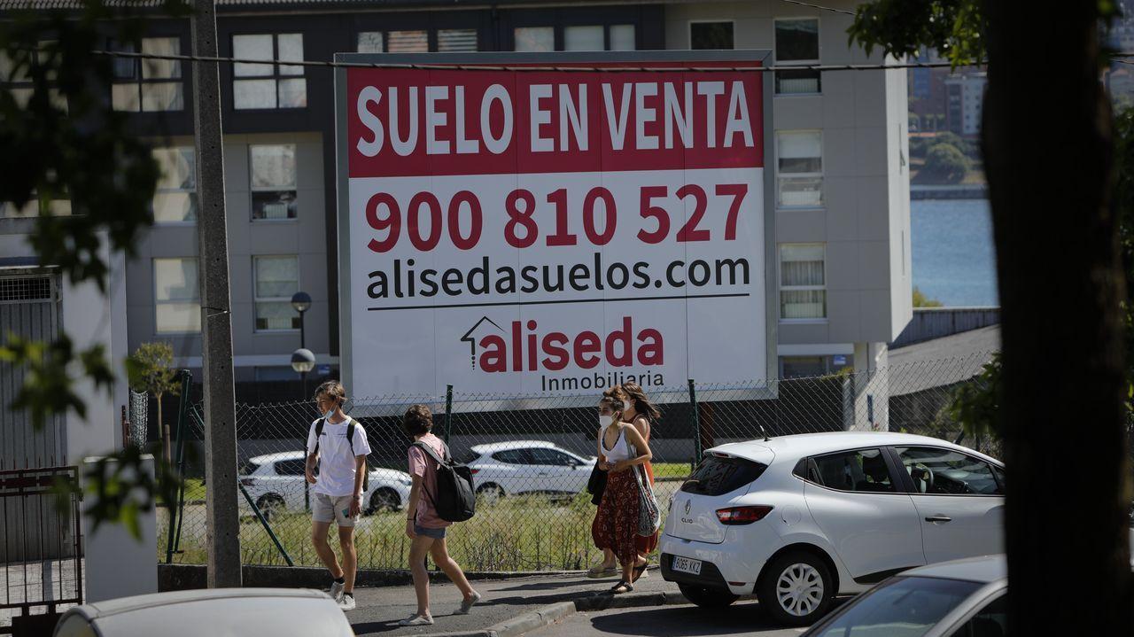 periferia.Esta vivienda en Mera (Oleiros) ha sido una de las últimas que ha vendido la inmobiliaria Será por Casas