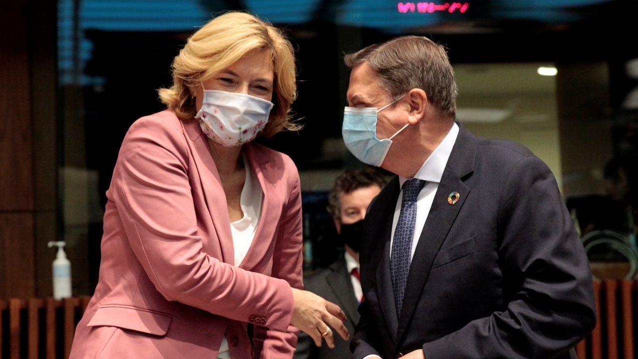 El ministro Luis Planas con su homóloga alemana Julia Kloeckner