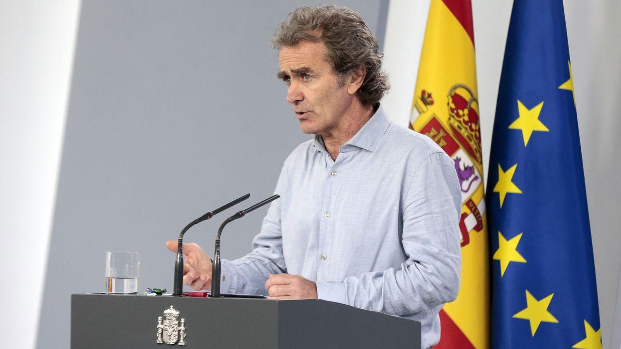 Rueda de prensa del director del Centro de Alertas y Emergencias Sanitarias, Fernando Simón, sobre la gestión de la crisisdel covid-19