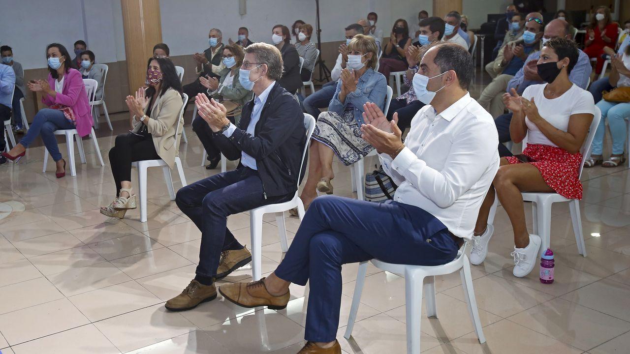 Feijoo, el miércoles en el acto sectorial sobre la familia celebrado en Poio, Pontevedra
