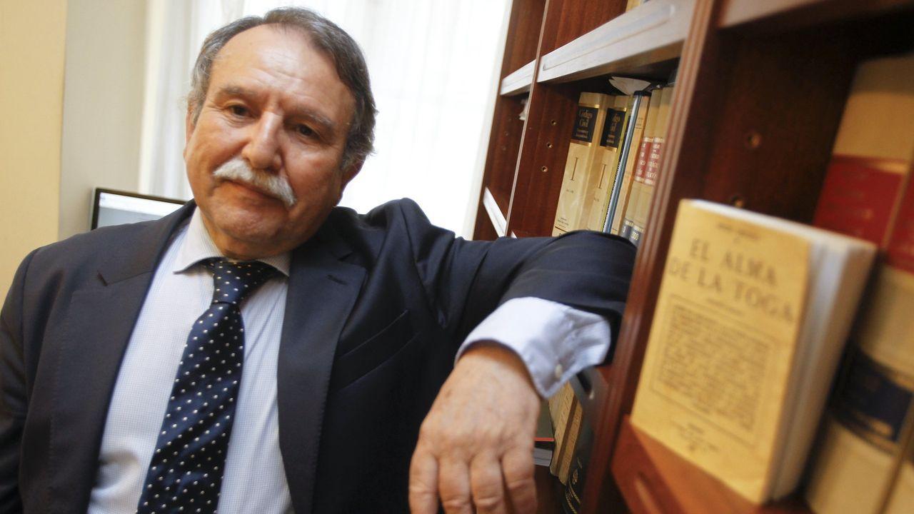 Luis Torres Foira, decano del Colegio de Abogados de Ferrol