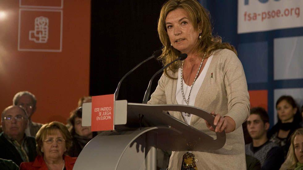 La diputada socialista y exalcaldesa de Llanes, Dolores Álvarez Campillo.La exdiputada socialista y exalcaldesa de Llanes, Dolores Álvarez Campillo