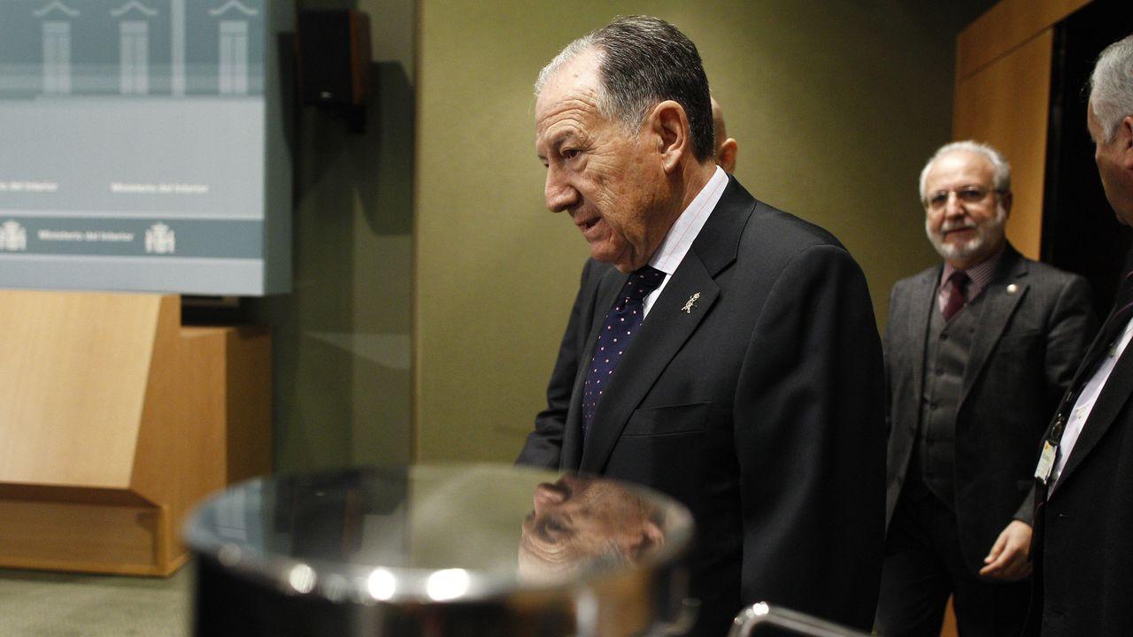 El director del Centro Nacional de Inteligencia, Félix Roldán, que cesa este viernes en el cargo