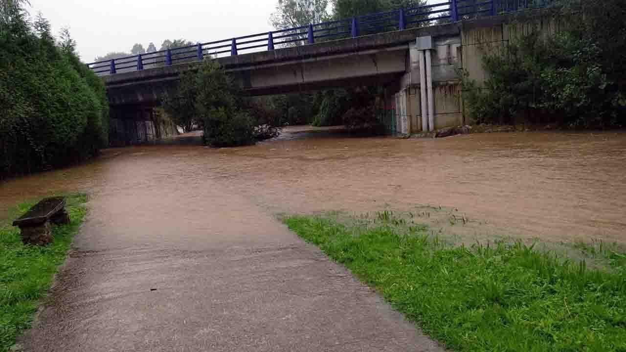 Inundaciones en Llanes