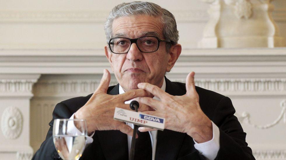 Así fueron algunas de las declaraciones con las que Pineda criticó a Evo-Banco.Luis Pineda, presidente de Ausbanc.