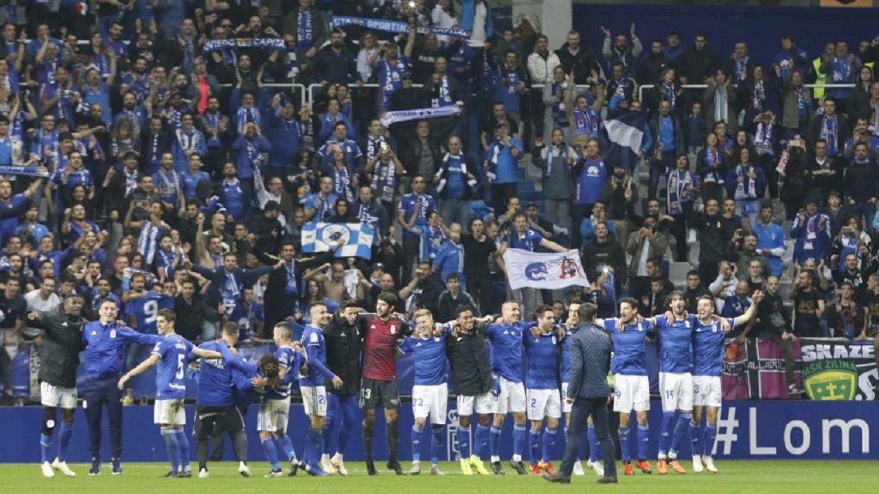 El Real Oviedo lleva vendidas 1757 entradas para el derbi