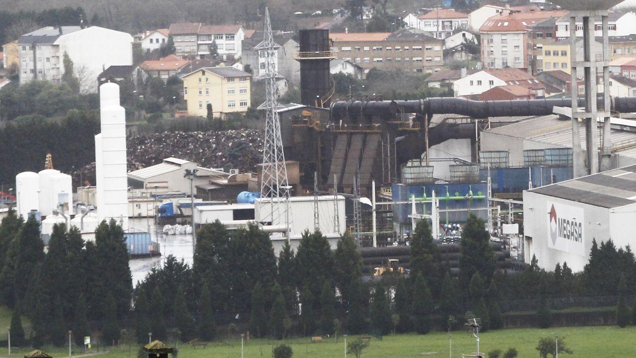 Las imágenes del fin de la hibernación empresarial en Ferrol.Nuevo logo de Reganosa, sumándose a la campaña #the200challenge