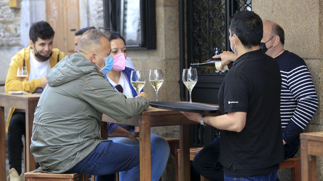 Los bares de la provincia de Lugo podrán abrir hasta las 23.00 y los restaurantes hasta la una de la madrugada