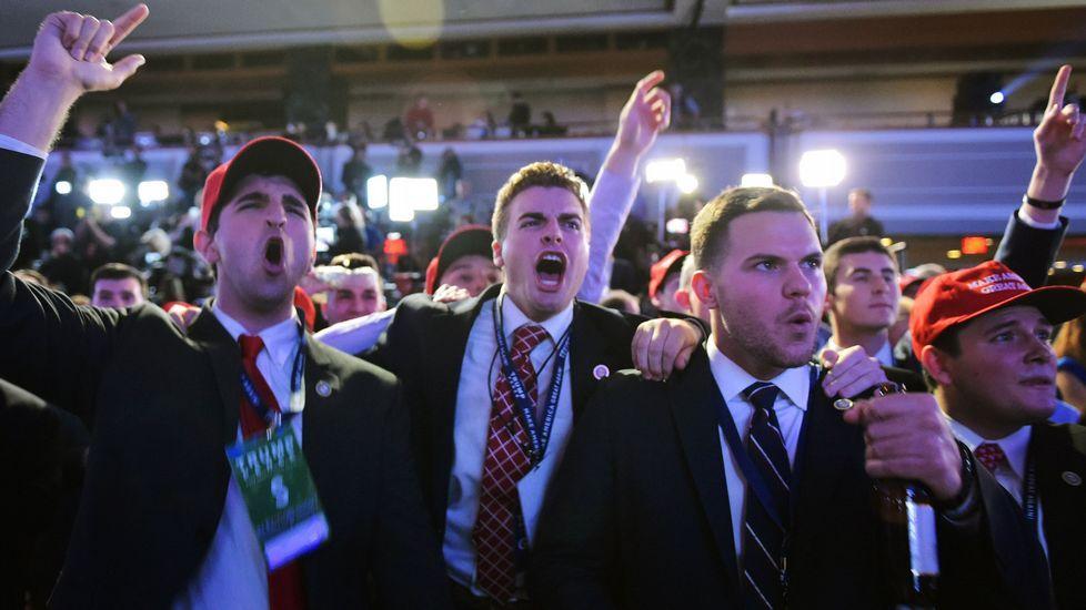 Euforia entre lso republicanos.