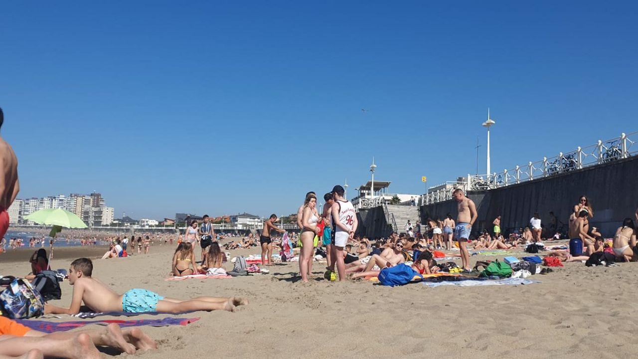 La playa de Salinas
