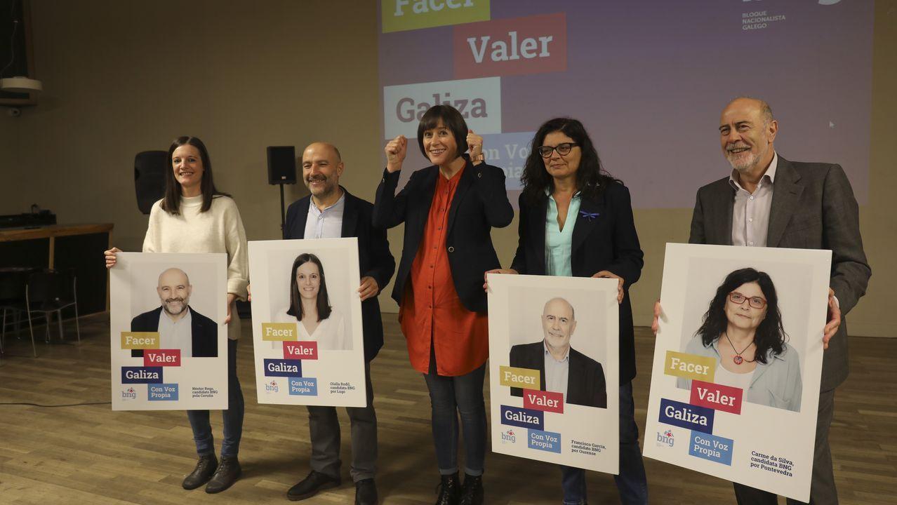 Néstor Rego, número un da candidatura do BNG pola Coruña nos comicios do 10N